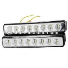 Haute qualité 8 pcs 5050 led lumière du jour voiture auto led lampe