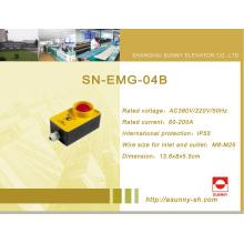 Cuadro de mantenimiento del pozo para el elevador (SN-EMG-04B)