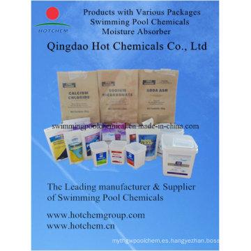 74% / 77% escamas de cloruro de calcio / absorbente de humedad (HCMACC000)