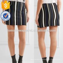 Nova Moda Stretch Algodão-mistura Mini Saia DEM / DOM Fabricação Atacado Moda Feminina Vestuário (TA5126S)