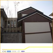 Impermeabilizan el producto verde duradero wpc cubierta de madera compuesto plástico pasado CE SGS