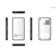 Mini proyector de cine en casa, proyector LED portátil inteligente, mini teléfono móvil inteligente con proyector