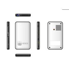 Mini projetor do teatro home, projetor inteligente portátil do diodo emissor de luz, telefone móvel esperto móvel do projetor do mini
