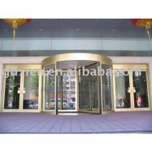 3-4 wings automatic revolving door