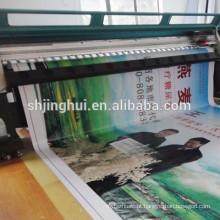 Banner de aniversário bandeira 510g UV impressão pvc flex com para fazer compras