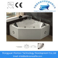 Soaking tub triangle whirlpool bathtub