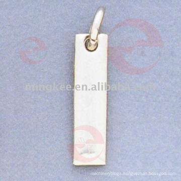 Rectangle Zipper Puller / Slider (G10-217AS)