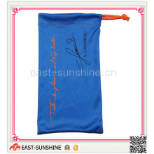 Soft Touch, Sunglasses Pouch, Microfibr Drawstring Bag for Sunglass, Glasses, Eyewear