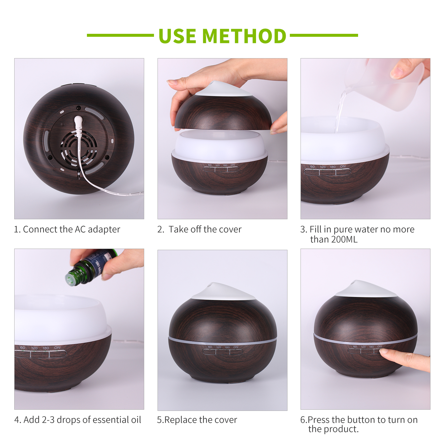ESSENTIAL OIL DIFFUSER (5)