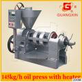 Extrator de óleo do kernel da palma Expresso do óleo Máquina de óleo da imprensa do frio com calefator
