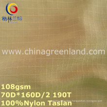 100%Nylon Taslan Dyeing Fabric for Sportswear Textile (GLLML252)