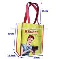 Sacos de presente, Sacos de compras, sacos não tecidos, saco de laminação