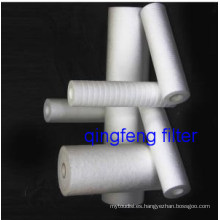 Purificador de agua de cartucho de filtro de PP soplado fundido 1um