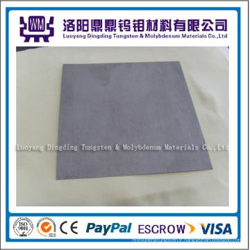 Feuille de tungstène de haute qualité recuite pure à 99,95% avec un bon prix