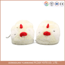 Factory Wholesale animal funny plush chicken slipper