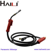 Tocha de soldagem por CO2 HAILI Panasonic 350A de refrigeração a ar