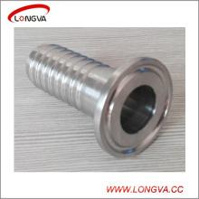 Conector da mangueira Tri-Fixada do encaixe de tubulação sanitária de aço inoxidável 304