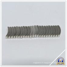 Superbe Arc néodyme matériau magnétique Permanent