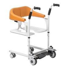 Lightweight aluminum wheelchair for bathroom
