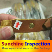 Fashion Accessories Inspection Services / Belt, Scarf, Shawl Quality Inspection