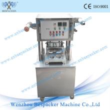 Cápsula de café yogur Copa llenado de sellado de la máquina