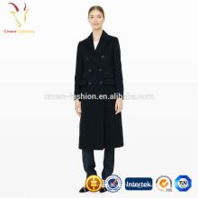 Dames hiver manteau long Femmes manteau 100% laine