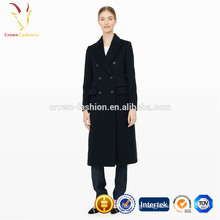 Ladies winter long coat Women coat 100% wool