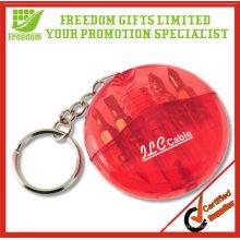 Porte-clés trousse d'outils imprimé logo promotionnel