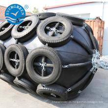 Guardabarros de caucho neumático de grado superior para atraque de buques