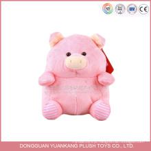 Produtos populares hotsale produtos macaco porco animais brinquedos de pelúcia feitos sob encomenda