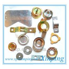precision flat sheet stamping metal work parts