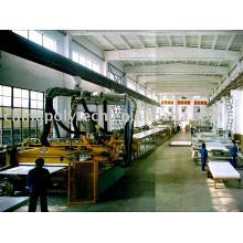 Máquina extrusora de hojas PP / PE