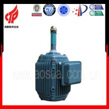 YCL serie 0.37KW 6 polos motor de la torre de enfriamiento de 3 fases / motor impermeable eléctrico