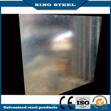 Feuille d'acier galvanisée par Dx51d Z100 2.0 * 1000 * 2000 millimètres
