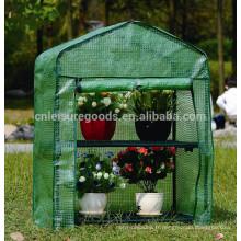 Économique facile portable en acier vert maison