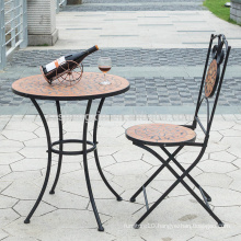 mosaic art bistro table set