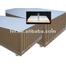 15/18mm melamine colors slotted mdf for shop