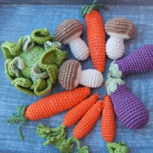 Hot Fashion Knitting Crochet Toys Baby Vegetables