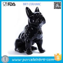 Colección Figurita Una pieza Schleich Bulldog Francés Figuras de cerámica