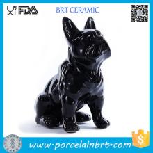 Sammlung Figur Schleich Französische Bulldogge Keramikfiguren