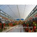 Tipos de policarbonato de folhas de cobertura do telhado estrutura muti-parede 100% Material Bayer