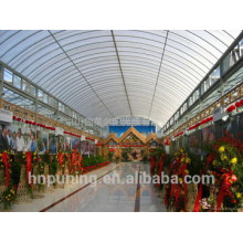 Polycarbonate types of roof covering sheets muti-wall structure 100% Bayer material