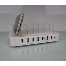 Carregamento USB para o carregador rápido da doca da estação do telefone móvel