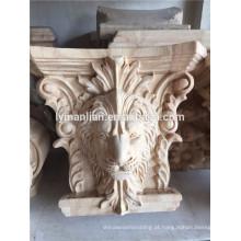 molduras de madeira decorativas guarnição de moldagem de madeira