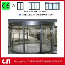 Puerta corredera automática de vidrio para uso profesional