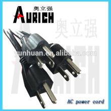 UL Standard Accueil cordon d'alimentation électrique Brancher avec 125