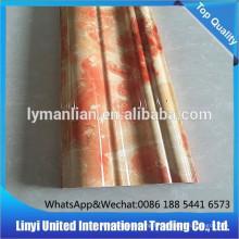 lignes de marbre artificielles en PVC toile de fond décoratif