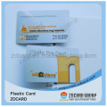 Tarjeta elegante de IC impresa PVC sin contacto del regalo