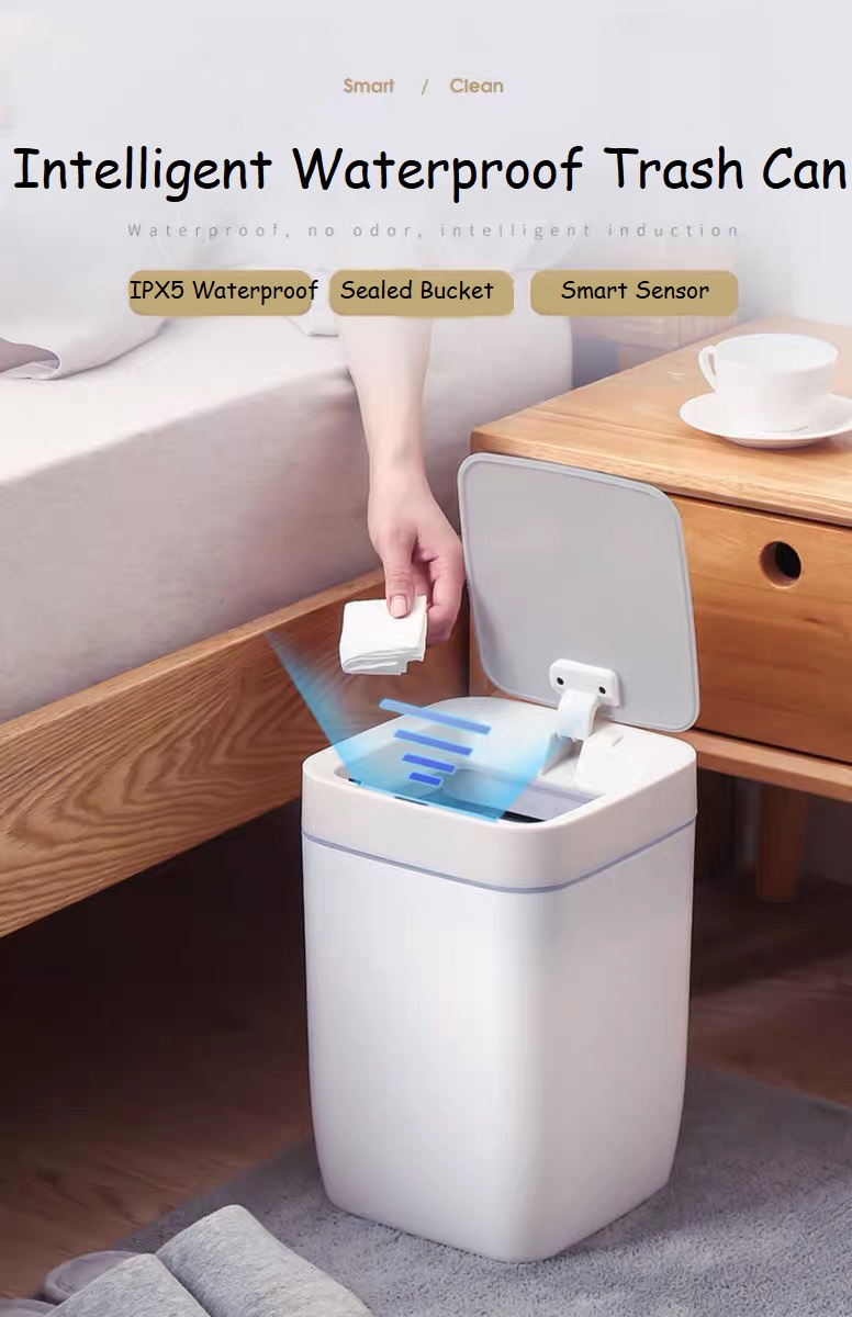 Plastic Waterproof Sensor Dustbin