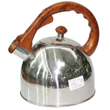 Whistling Water Kettle Manija de madera